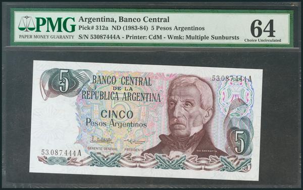 855 - Billetes Extranjeros