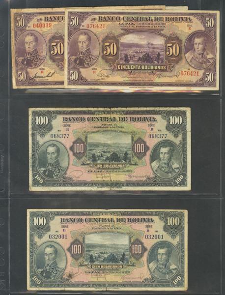 861 - Billetes Extranjeros