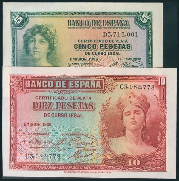 86 - Billetes Españoles
