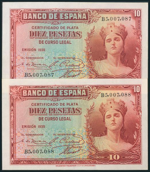 89 - Billetes Españoles