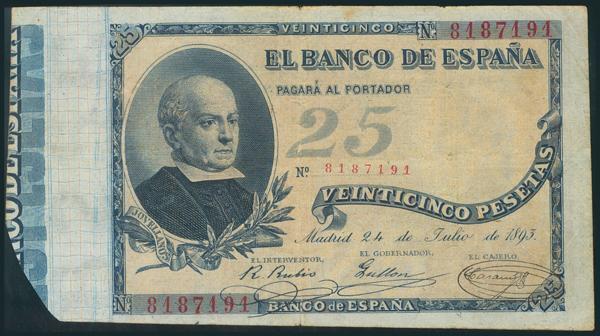 8 - Billetes Españoles