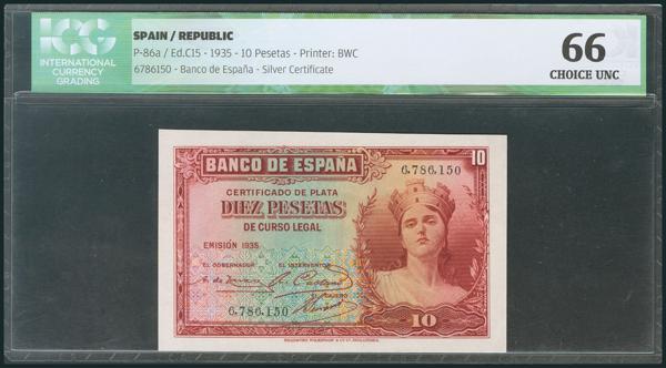 90 - Billetes Españoles