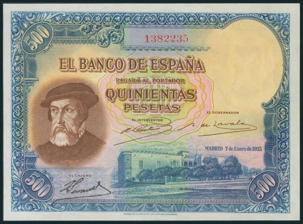 91 - Billetes Españoles