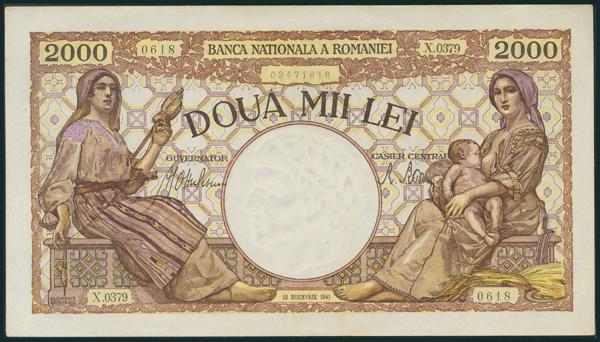 933 - Billetes Extranjeros