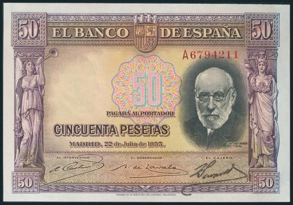 94 - Billetes Españoles