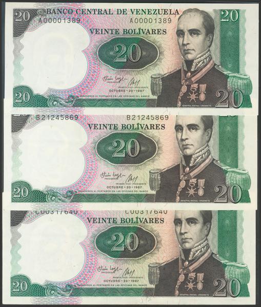 962 - Billetes Extranjeros