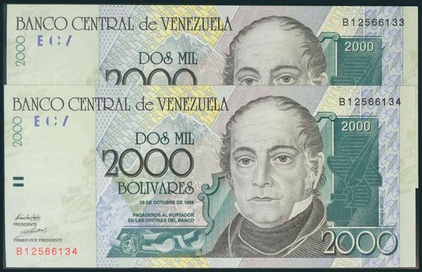 965 - Billetes Extranjeros