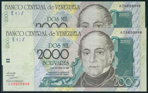 966 - Billetes Extranjeros