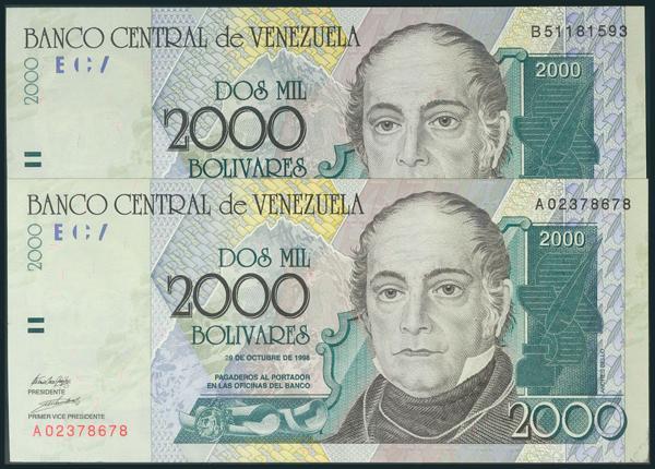 967 - Billetes Extranjeros