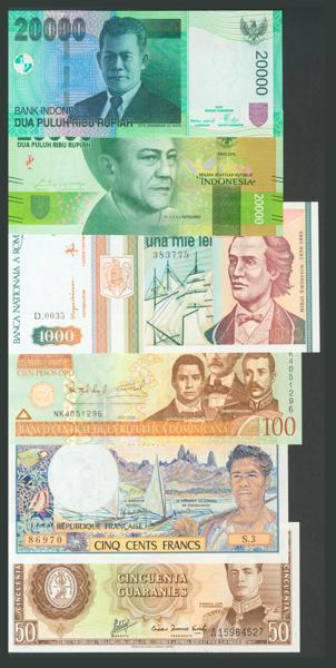 975 - Billetes Extranjeros