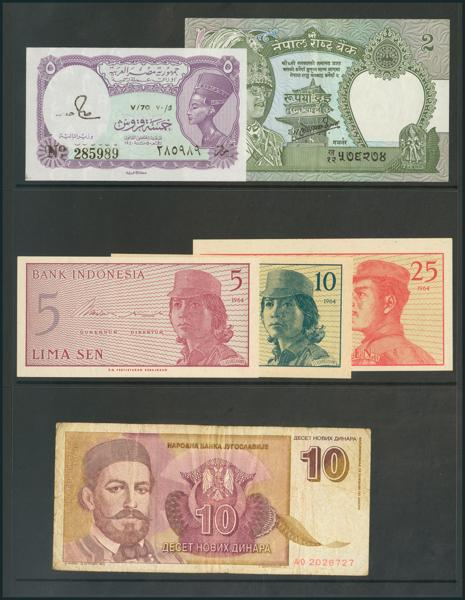 977 - Billetes Extranjeros