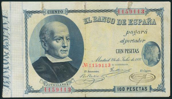 9 - Billetes Españoles