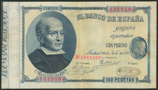 22 - Billetes Españoles