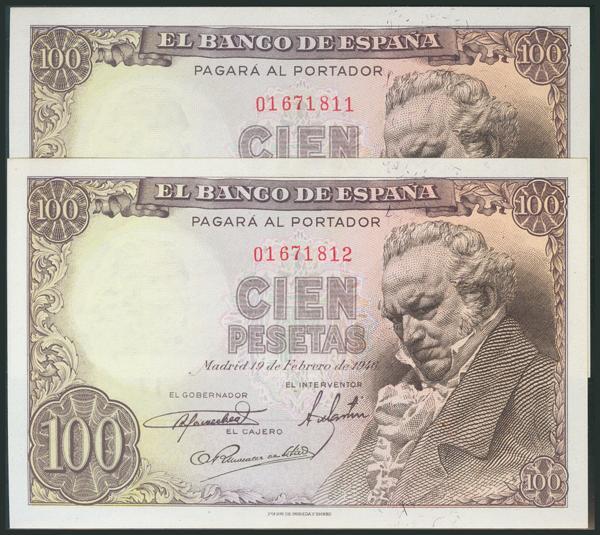 304 - Billetes Españoles