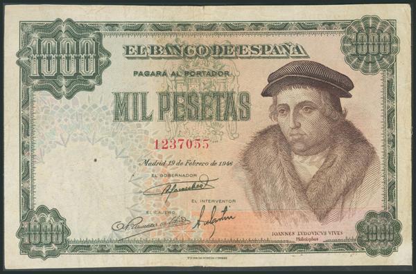 312 - Billetes Españoles