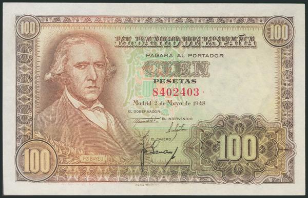 322 - Billetes Españoles