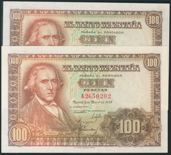 324 - Billetes Españoles