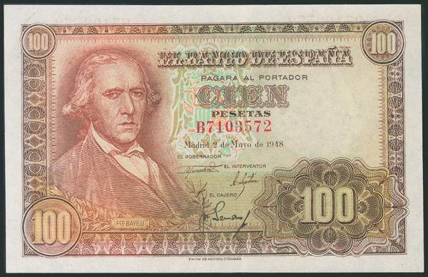 325 - Billetes Españoles
