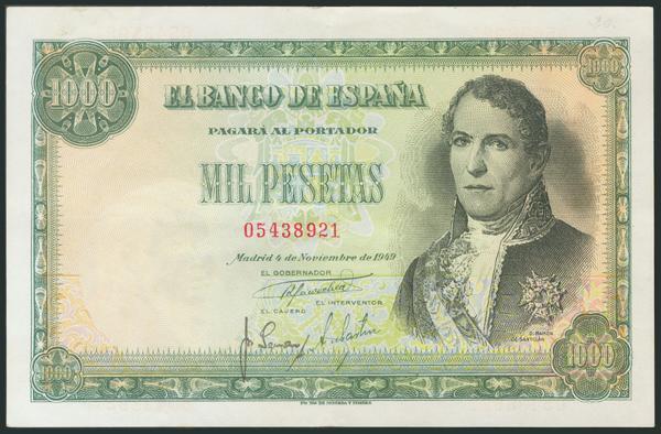 334 - Billetes Españoles