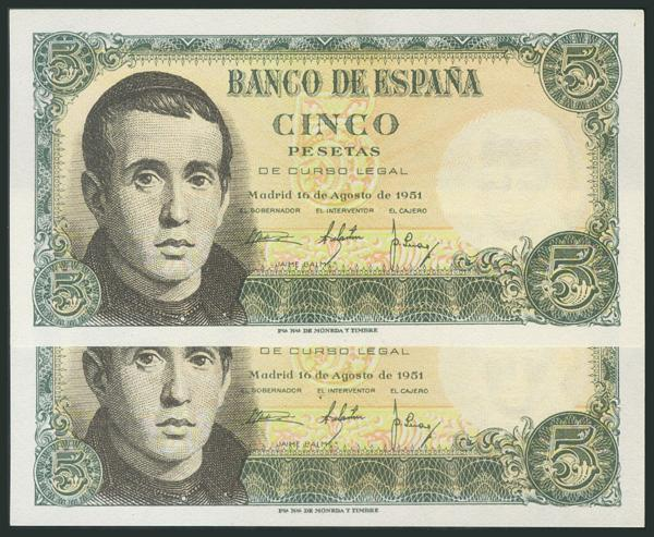 336 - Billetes Españoles