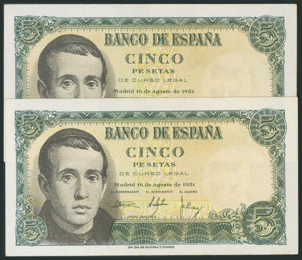 338 - Billetes Españoles