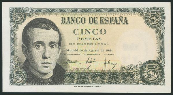 342 - Billetes Españoles