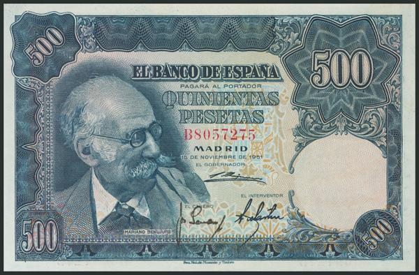 350 - Billetes Españoles