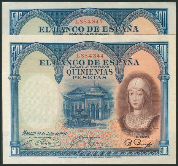 39 - Billetes Españoles