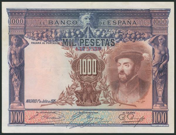 46 - Billetes Españoles