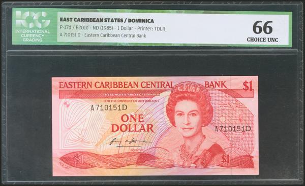 587 - Estados del Caribe Oriental