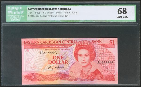 588 - Estados del Caribe Oriental