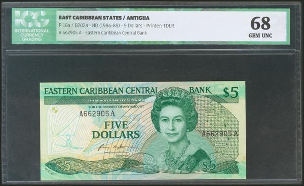 595 - Estados del Caribe Oriental
