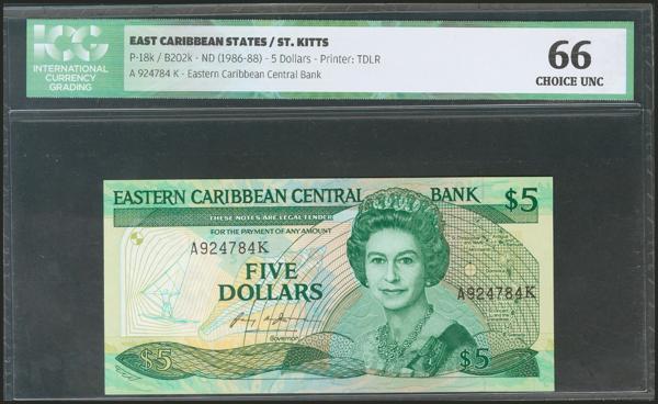 596 - Estados del Caribe Oriental