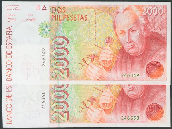 752 - Billetes Españoles