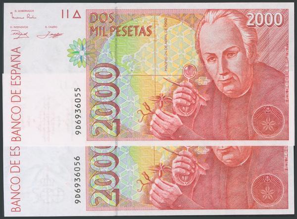 755 - Billetes Españoles