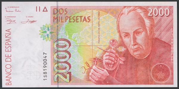 756 - Billetes Españoles