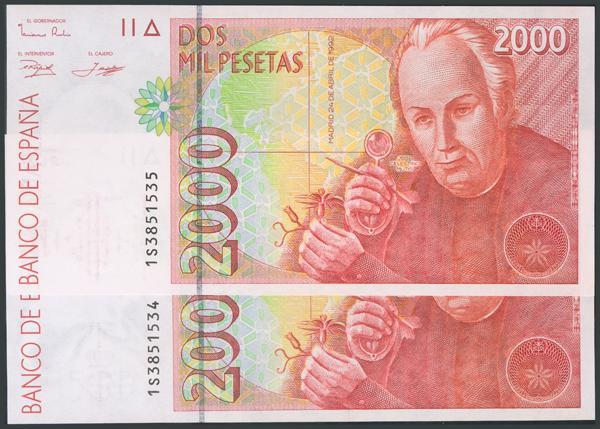 757 - Billetes Españoles
