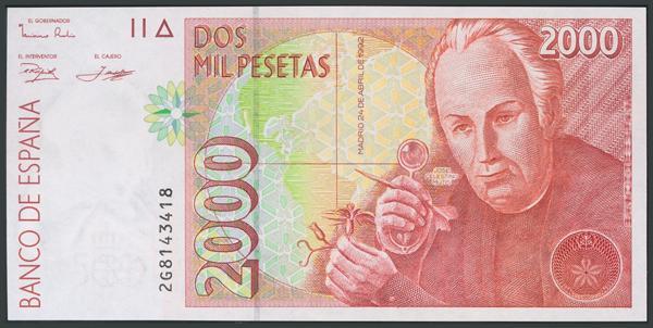 758 - Billetes Españoles