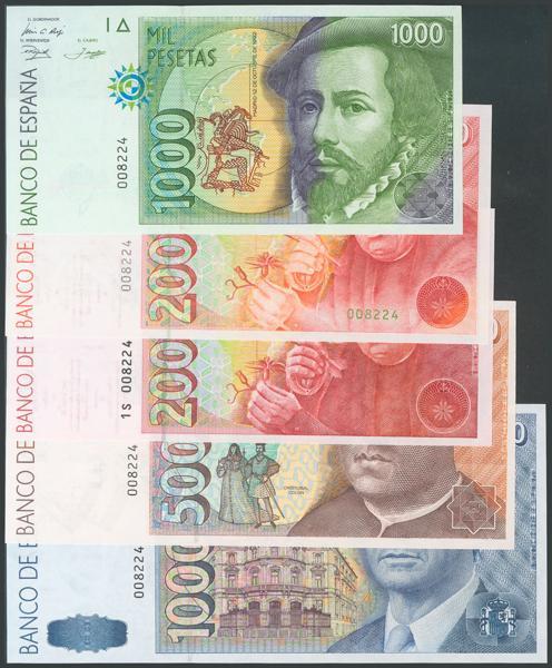 759 - Billetes Españoles