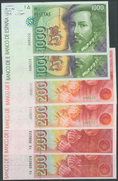 760 - Billetes Españoles
