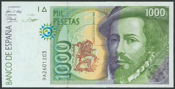 761 - Billetes Españoles