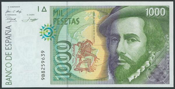 762 - Billetes Españoles