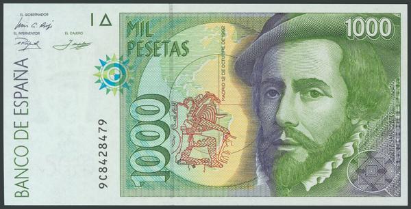 763 - Billetes Españoles