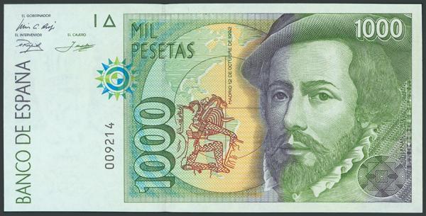 764 - Billetes Españoles
