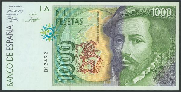 765 - Billetes Españoles