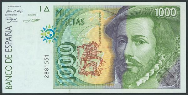 766 - Billetes Españoles