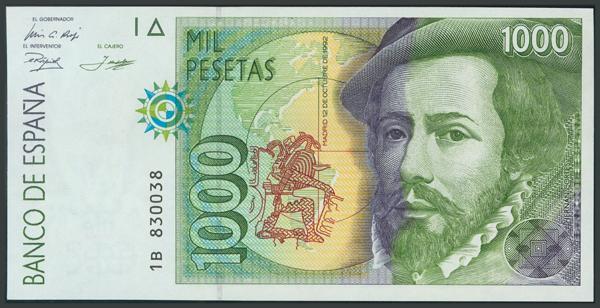 767 - Billetes Españoles
