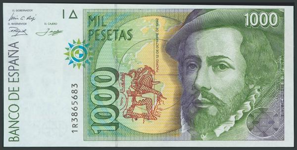 768 - Billetes Españoles
