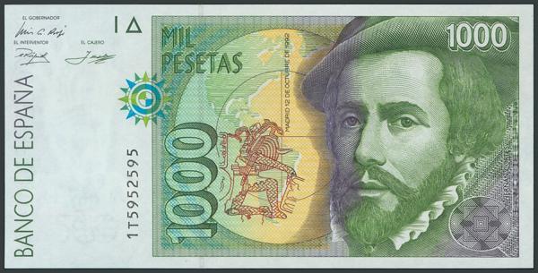 769 - Billetes Españoles