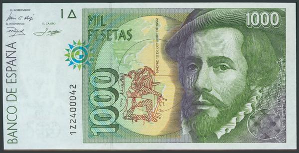 771 - Billetes Españoles